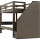 Kieran Twin-Over-Twin Bunk Bed w/ Staircase