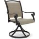 Bass Lake Sling Swivel Chair