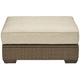 Arch Salvage Florence Outdoor Ottoman