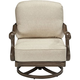 Arch Salvage Cannes Outdoor Swivel Rocker Armchair