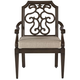 Arch Salvage Gabrielle Outdoor Dining Armchair