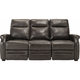 Kellner Power-Reclining Sofa w/ Power Headrest