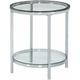 Pattie Glass End Table