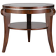 Ashland Heights Glass End Table