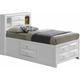 Marilla Twin Captain's Bed