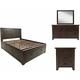 Jackson Lodge 4-pc. Queen Storage Bedroom Set
