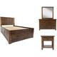 Sonoma Creek 4-pc. King Storage Bedroom Set