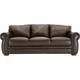 Marsala Leather Sofa