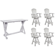 Lakeside 5-pc. Bar Height Dining Set w/ Pub Chair