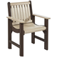 Lakeside Outdoor Dining Arm Chair