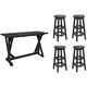 Lakeside 5-pc. Bar-Height Outdoor Dining Set