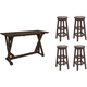 5-pc. Bar-Height Dining Set