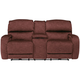 Nicholas Power Headrest Console Loveseat