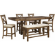 Montana 6-pc. Counter-Height Dining Set w/ Leaves