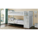 Carissa Twin Bunk Bed with Storage Staircase