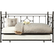 Kujawa Metal Daybed With Trundle