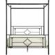 Grayton Queen Canopy Platform Bed