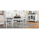 Liberty Furniture Ind. Ltd. Shelby 5-pc. Dining Set White