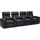 Century Leather 4-pc. Power-Reclining Sectional Sofa