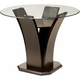 Venice 48 Glass Counter-Height Dining Table