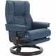 Stressless Mayfair Large Leather Reclining Chair and Ottoman