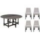 Salem 5-pc. Round Dining Set