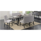 Salem 5-pc. Dining Set w/ Benches