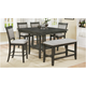 Fulton 6-pc. Counter-Height Dining Set