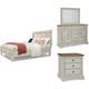 Cottage 4-pc. California King Storage Bedroom Set