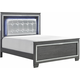 Brambley Cal King Bed with LED Lighting