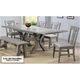 Graystone 5-pc. Dining Set w/ Upholstered Chairs