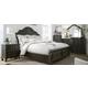 Liberty Furniture Ind. Ltd. Gardiner 4-pc. Queen Sleigh Bedroom Set
