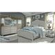 Farmhouse Reimagined 4-pc. Queen Panel Bedroom Set w/ Open Nightstand
