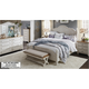 Farmhouse Reimagined 4-pc. King Poster Bedroom Set w/ Drawer Nightstand