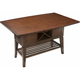 Danfield Counter-Height Dining Table w/ Wine Storage