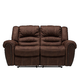 Cole Microfiber Reclining Loveseat