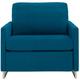 Brandt Cot Microfiber Sleeper Sofa w/ Gel Mattress
