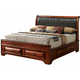 Sarasota Upholstered King Storage Bed
