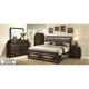 Sarasota Upholstered 4-pc. Full Storage Bedroom Set