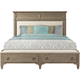 Myra Upholstered California King Bed w/ Bench