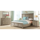 Myra 4-pc. California King Bedroom Set W/ 3-drawer Nightstand