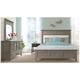 Myra 4-pc. California King Bedroom Set w/ Sable Nightstand