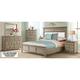 Myra Upholstered 4-pc. California King Bedroom w/ 3-Drawer Nightstand