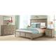 Myra Upholstered 4-pc. Queen Bedroom Set w/ 3-Drawer Nightstand