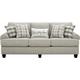 Fusion Furniture, Inc. Shiloh Sofa Beige