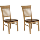Brook Fancy Dining Chair: Set of 2