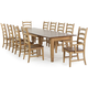 Brook 11-pc. Dining Set w/ Arm Chairs