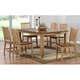 Brook 7-pc. Dining Set w/ Slat Back Chairs