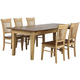 Brook 5-pc. Dining Set w/ Fancy Chairs