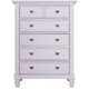 Varsity Bedroom Chest - Lavender